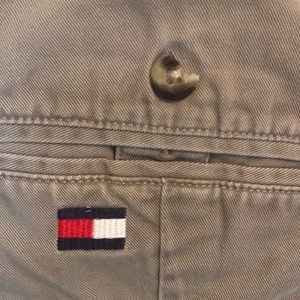 Tommy Hilfiger Pants - Mens Tommy Hilfiger pleated front khakis